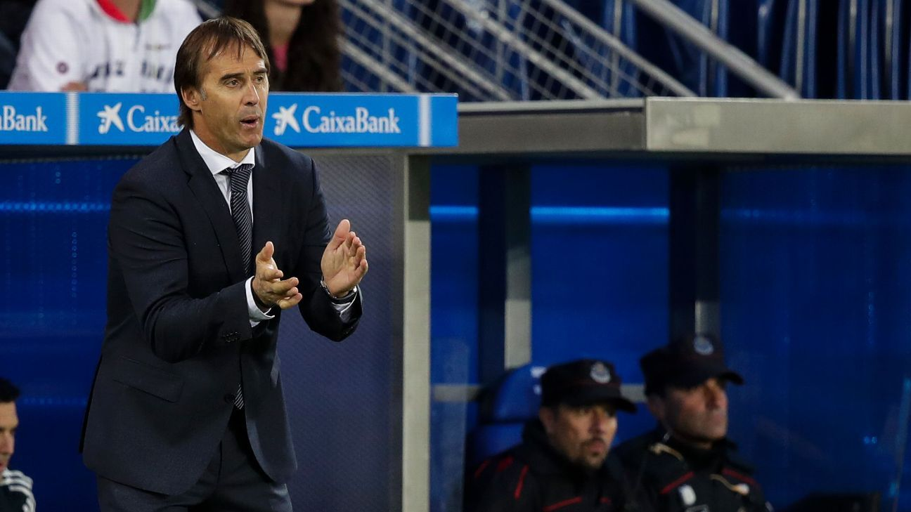 It's going to take Lopetegui some time to get Real Madrid pointed in the right direction given what the club is trying to do.