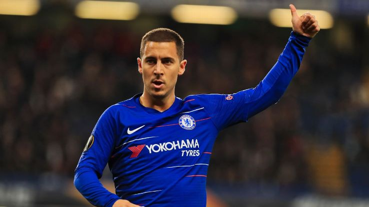 Eden Hazard is thriving at Chelsea under Maurizio Sarri but has made no secret of his desire to join Real Madrid.