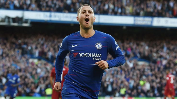 Eden Hazard is enjoying life at Chelsea this season under Maurizio Sarri but he's also made no secret of his desire to one day join Real Madrid.