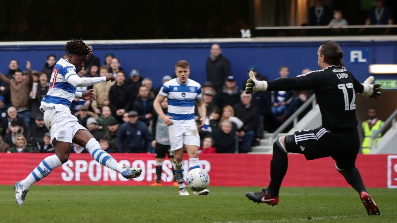 Ebere Eze has scored three goals for QPR so far this season, leading to an England under-20 call up.