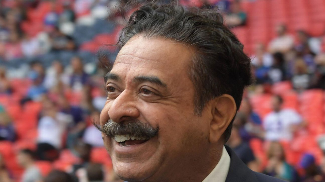 Shad Khan, owner of Premier League side Fulham and NFL team Jacksonsville Jaguars, is attempting to buy Wembley Stadium.