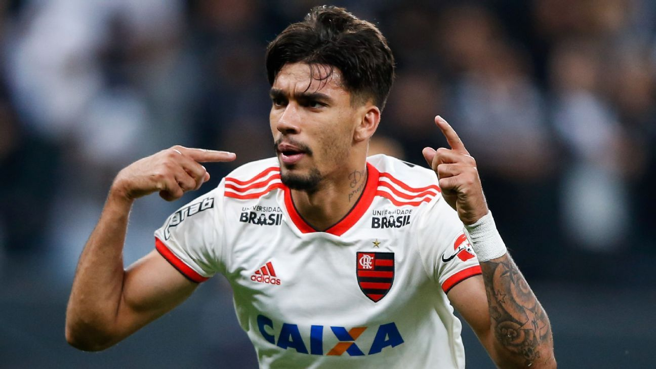 Lucas Paqueta is set to join AC Milan from Flamengo