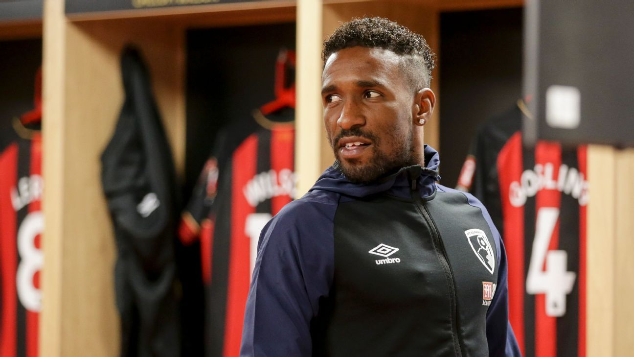 Jermain Defoe has hopes of moving up the scoring charts at Bournemouth.