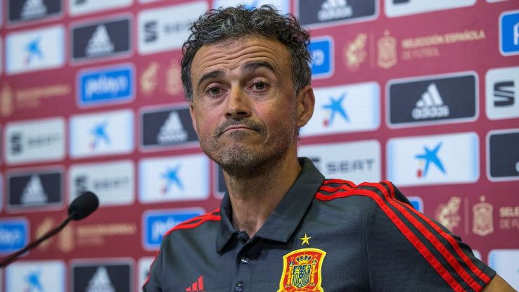 Luis Enrique says his team prepared to play against Gareth Bale.