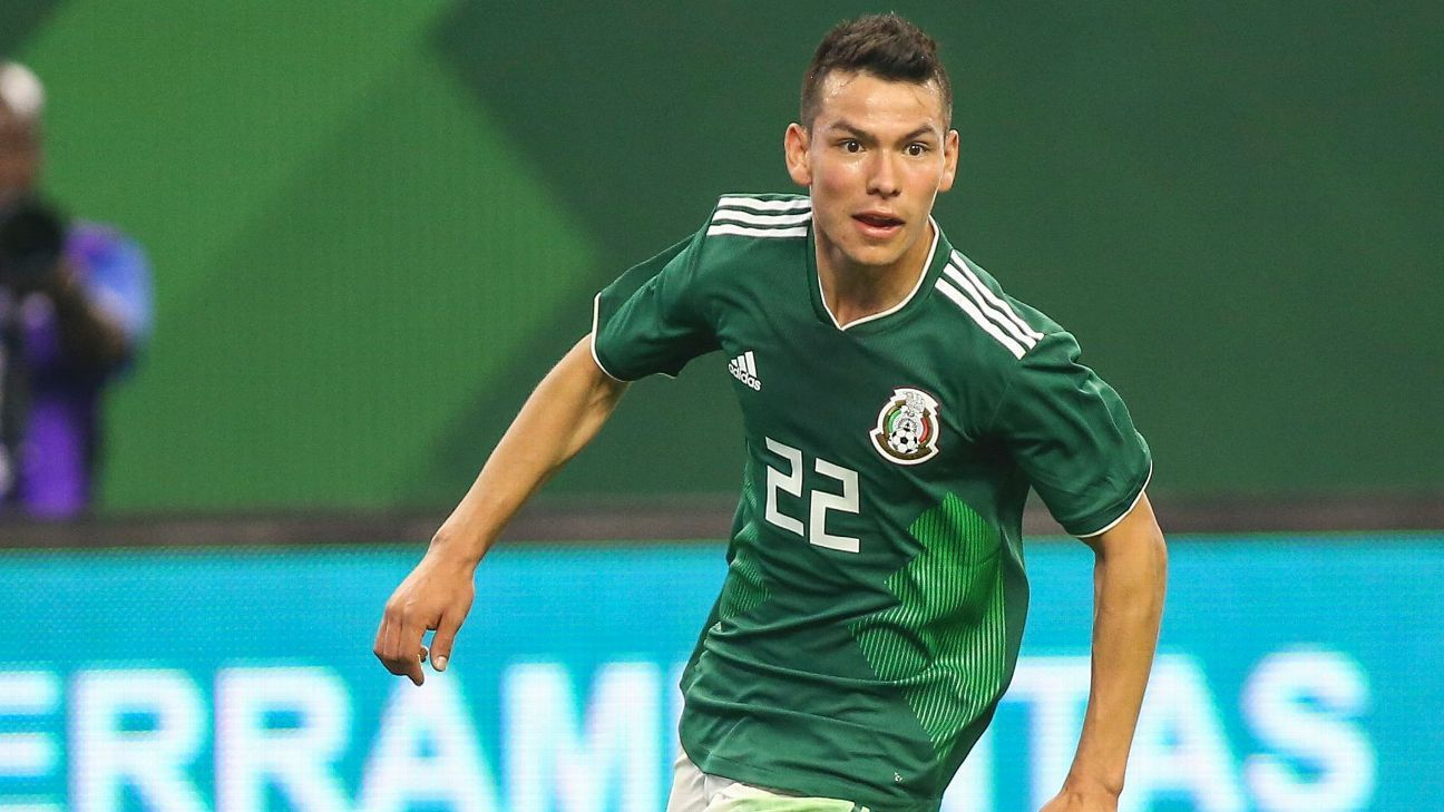 Following a breakthrough World Cup performance, Hirving Lozano has teased Mexico fans with his apt prowess on the wing.