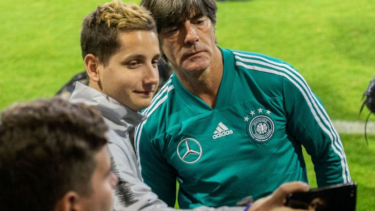 Joachim Low and Germany are enjoying their warm welcome from fans who are finally over World Cup failure. The national team needs support amid a tricky spell.
