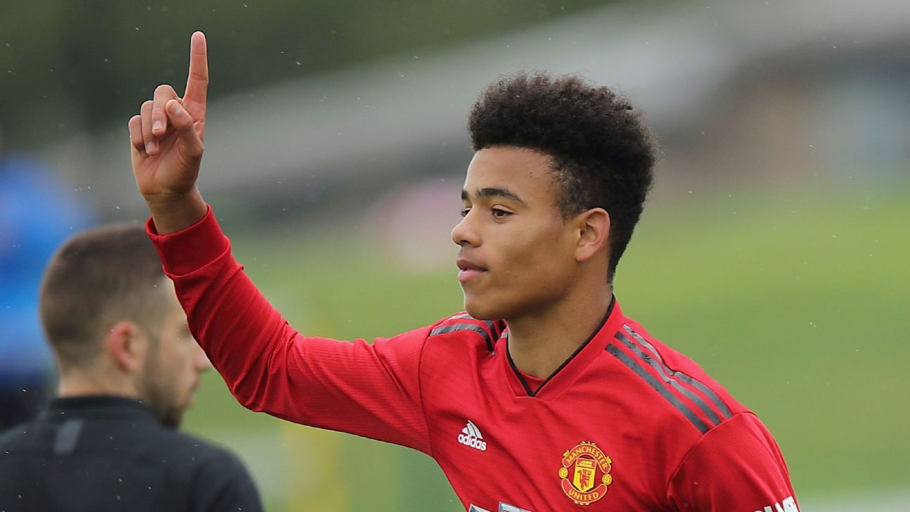 Mason Greenwood has been tipped for a bright future at Manchester United.