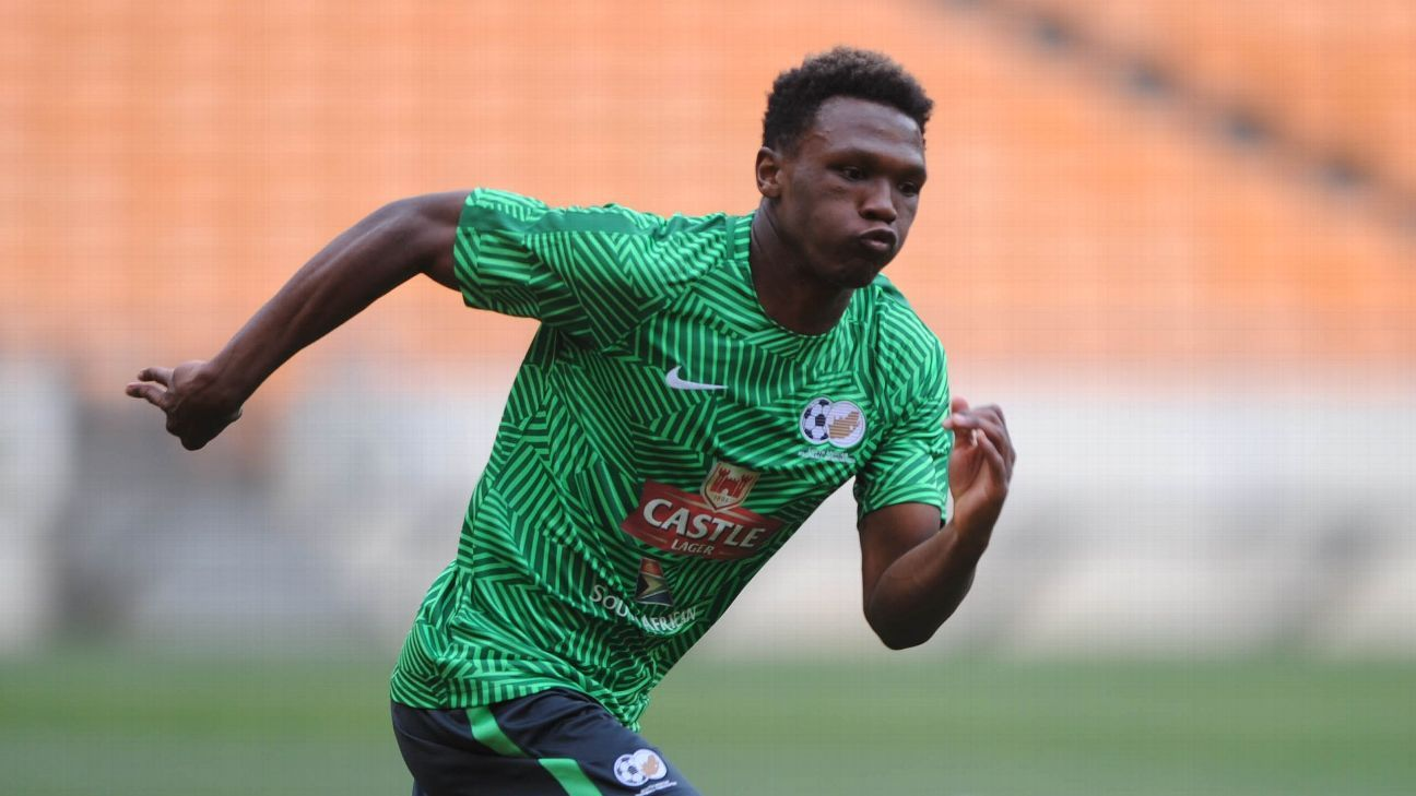 Mothiba keen to make impression on Bafana fans in Seychelles clashes