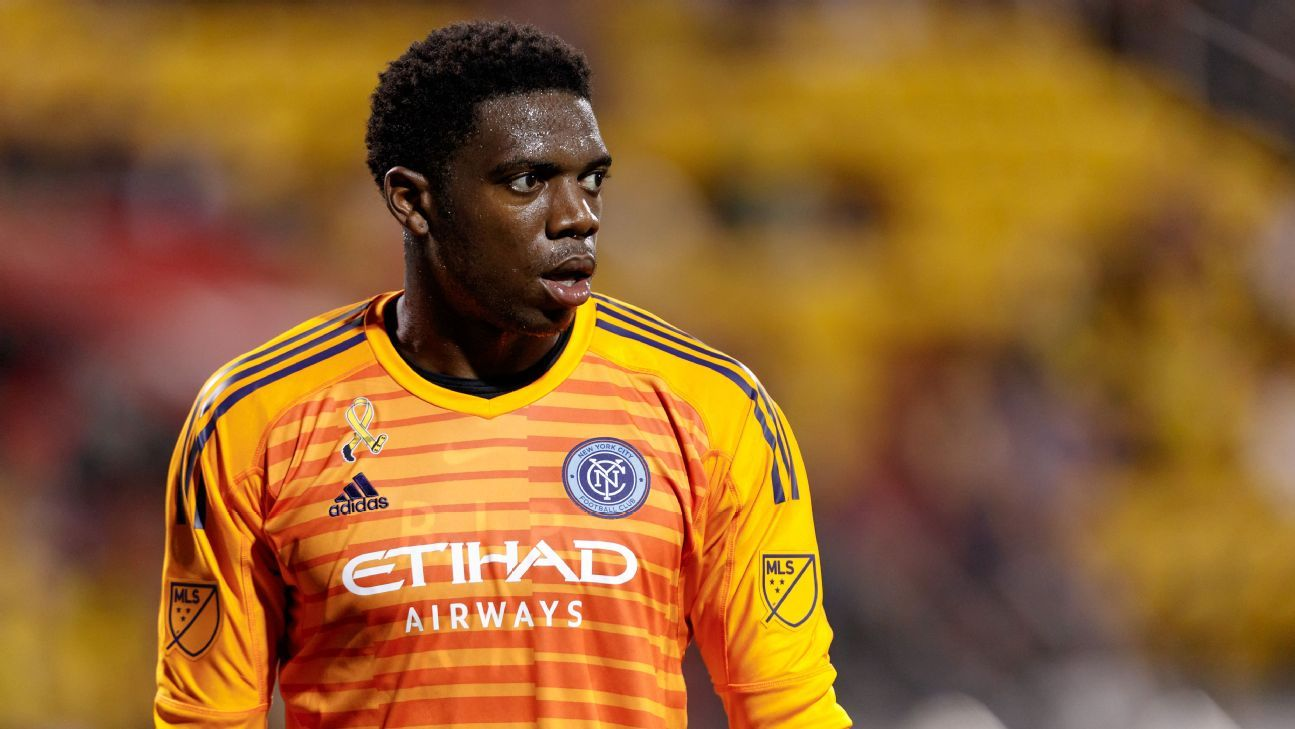 NYCFC goalkeeper Sean Johnson has re-signed with the club.