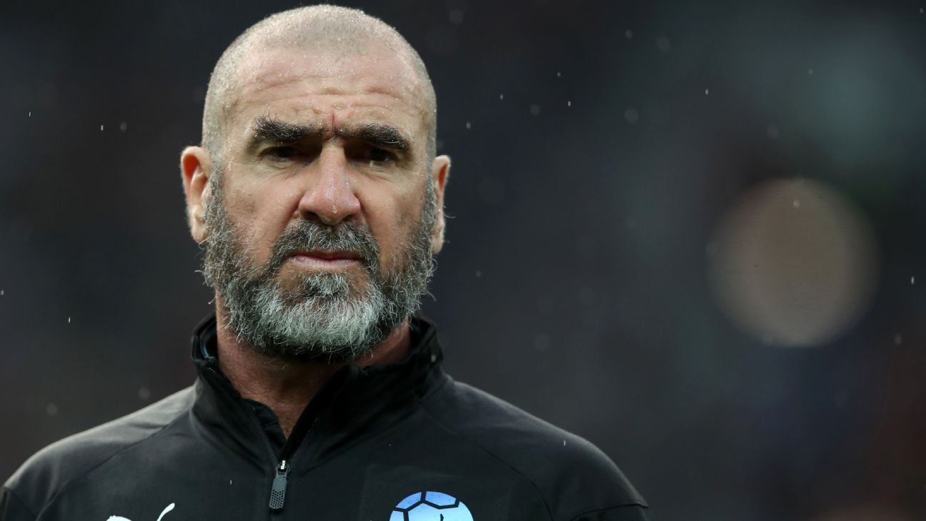 Eric Cantona is not happy with the job Jose Mourinho's doing at Manchester United.