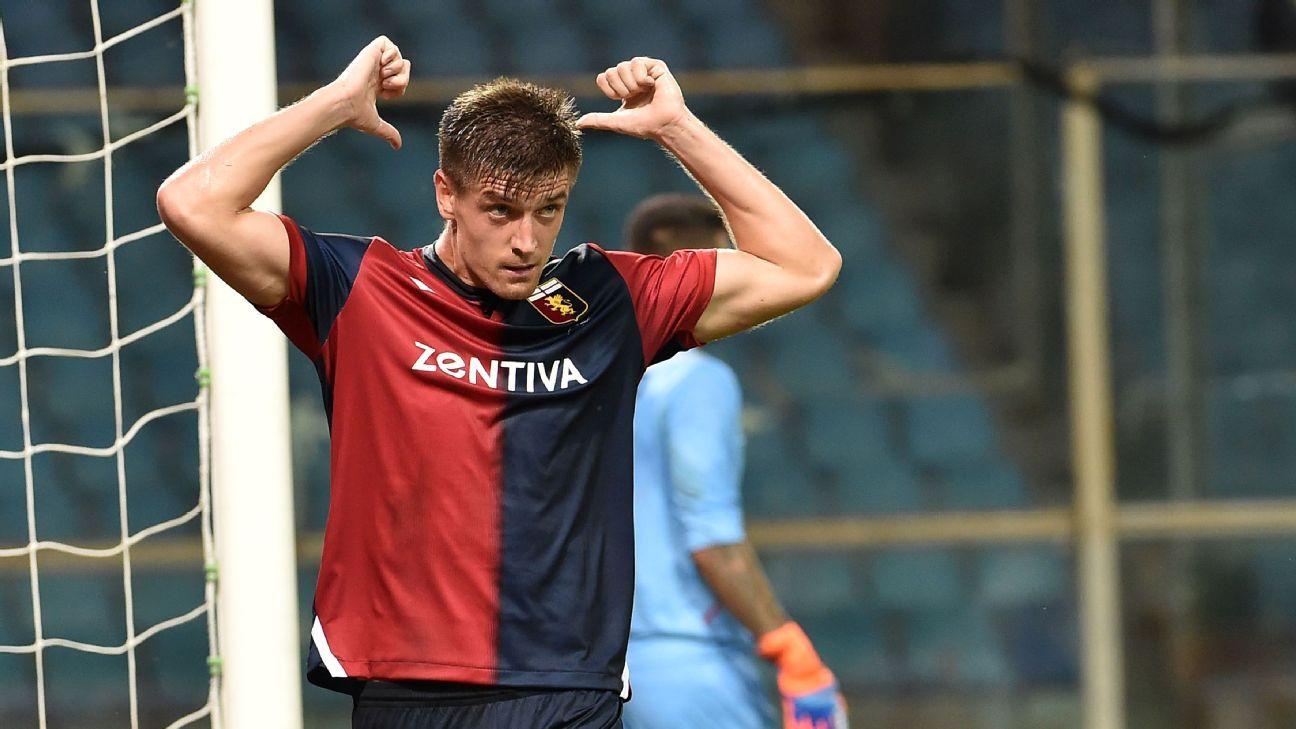 Genoa's Krzysztof Piatek has had an incredible start to the season.