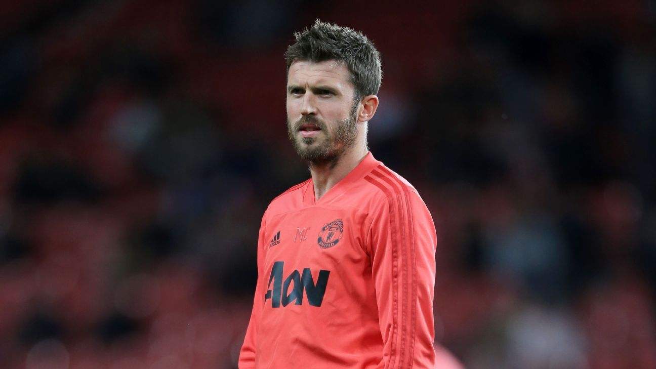 Manchester United assistant Michael Carrick