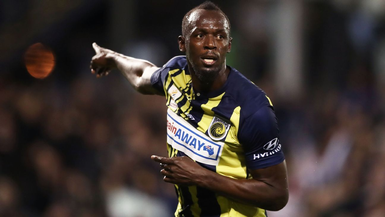 Usain Bolt taking Central Coast Mariners contract talks 'one step at a time' - E...