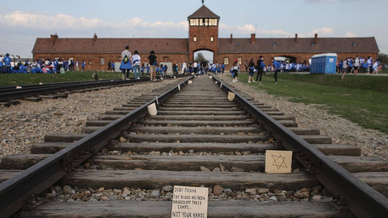 Chelsea sent a delegation to attend the annual March of the Living at Auschwitz in April.