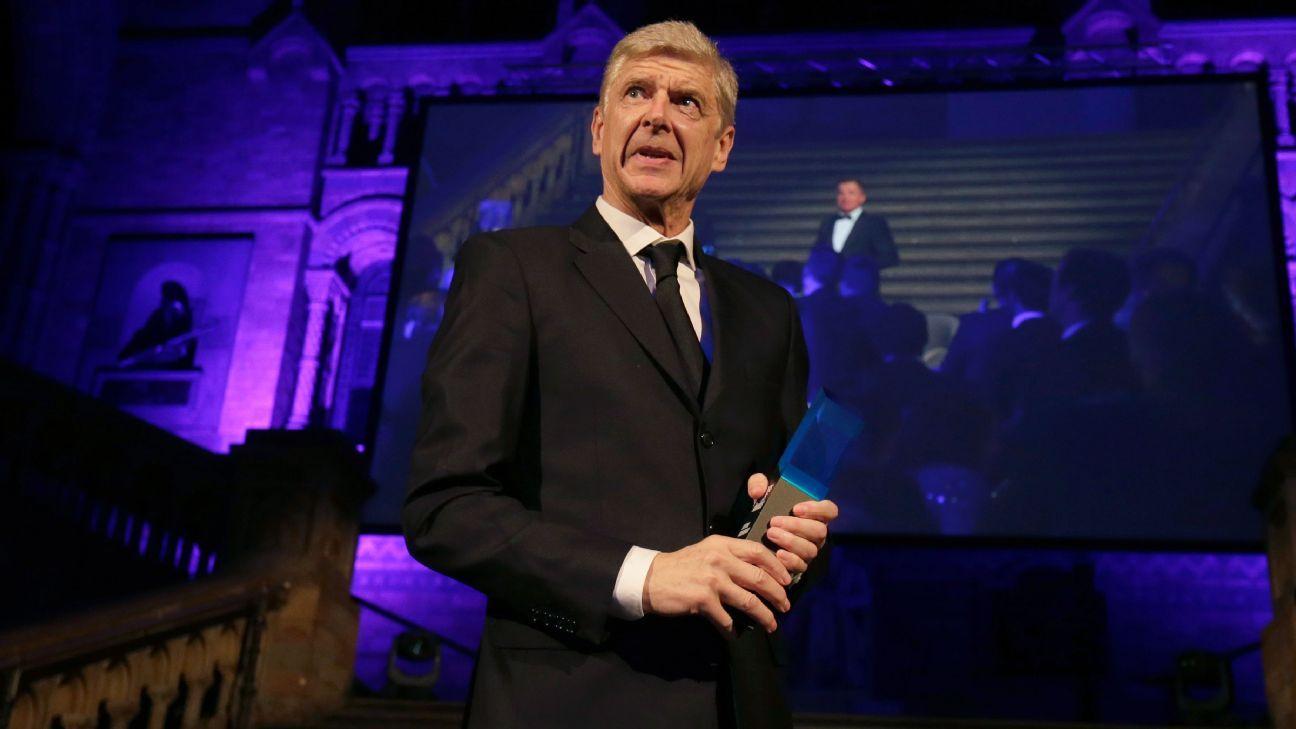 Former Arsenal manager, Arsene Wenger