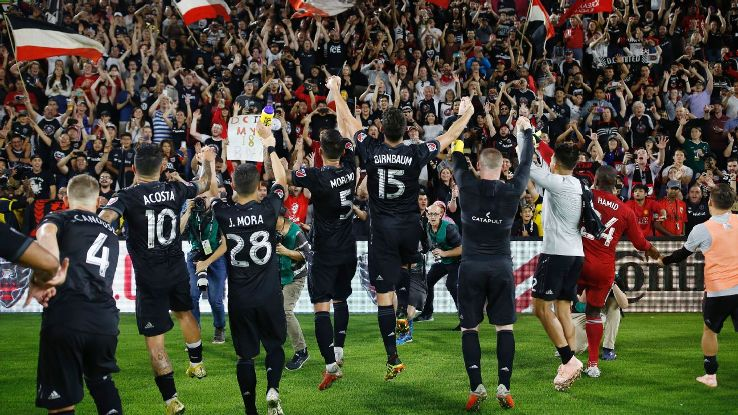 From virtually worst in the East to a playoff chance, D.C. United's turnaround has been nothing short of remarkable.