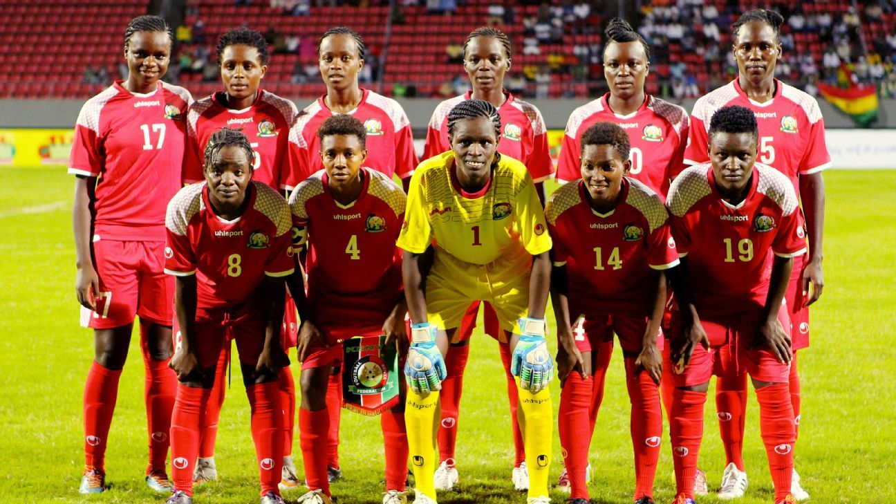 Kenya at the 2016 Women African Cup of Nations