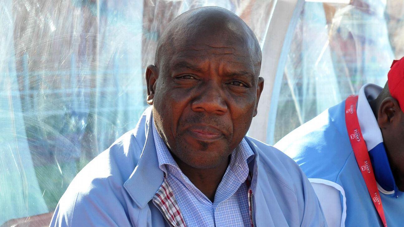 Lesotho coach Moses Maliehe