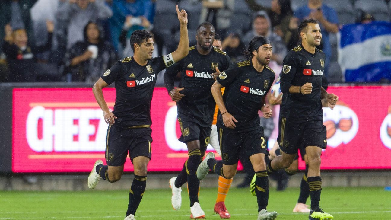 Carlos Vela stars as LAFC beats Houston Dynamo to go second in West