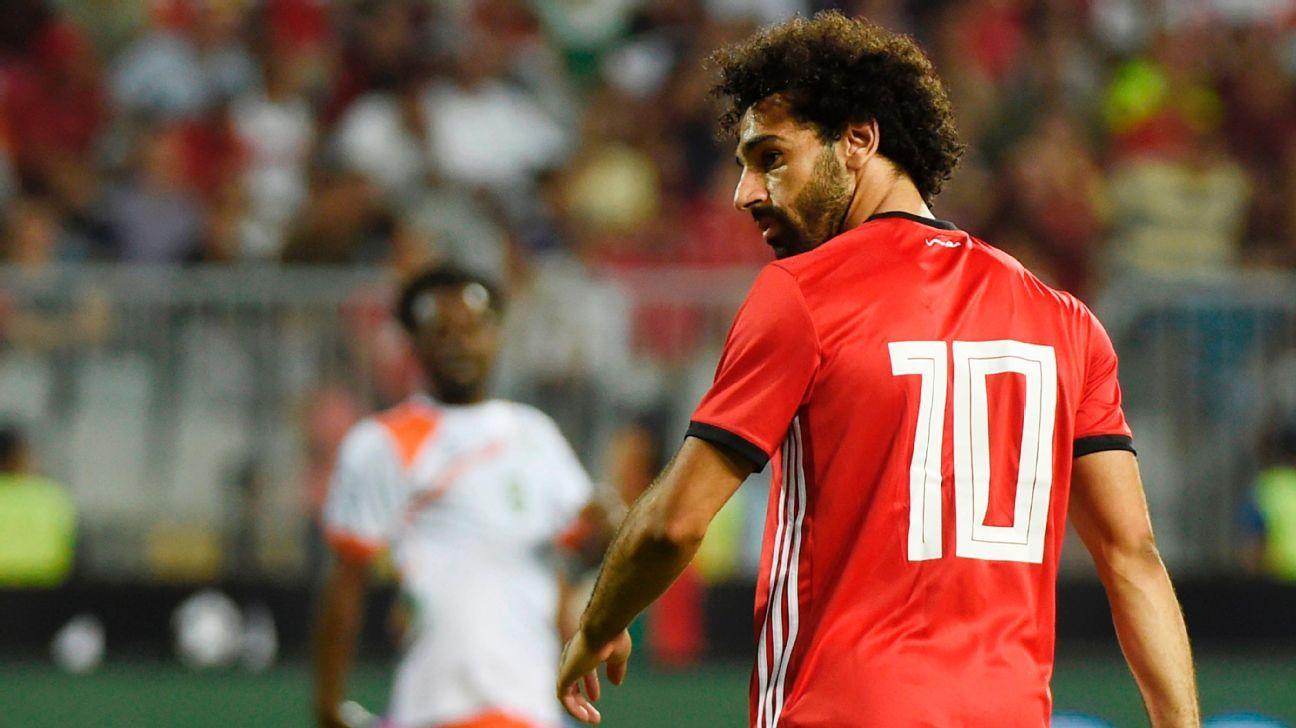 Egypt's Mohamed Salah