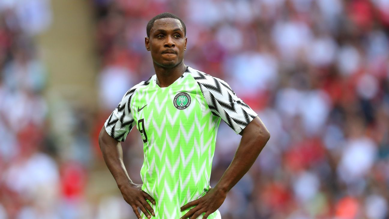Odion Ighalo's hat-trick for the Super Eagles against Libya stormed back to win his second Player of the Month award.