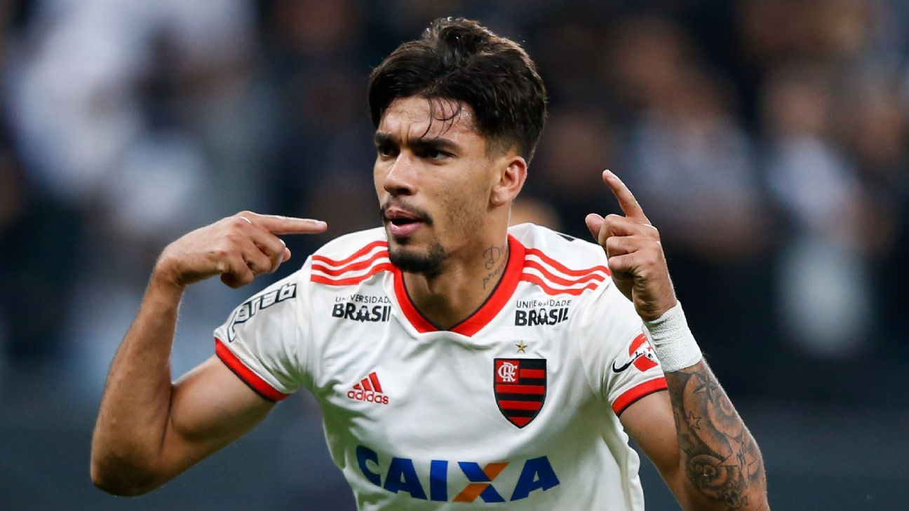 Lucas Paqueta has made a name for himself at Flamengo but has had to play for six different coaches in his brief time with the senior squad.