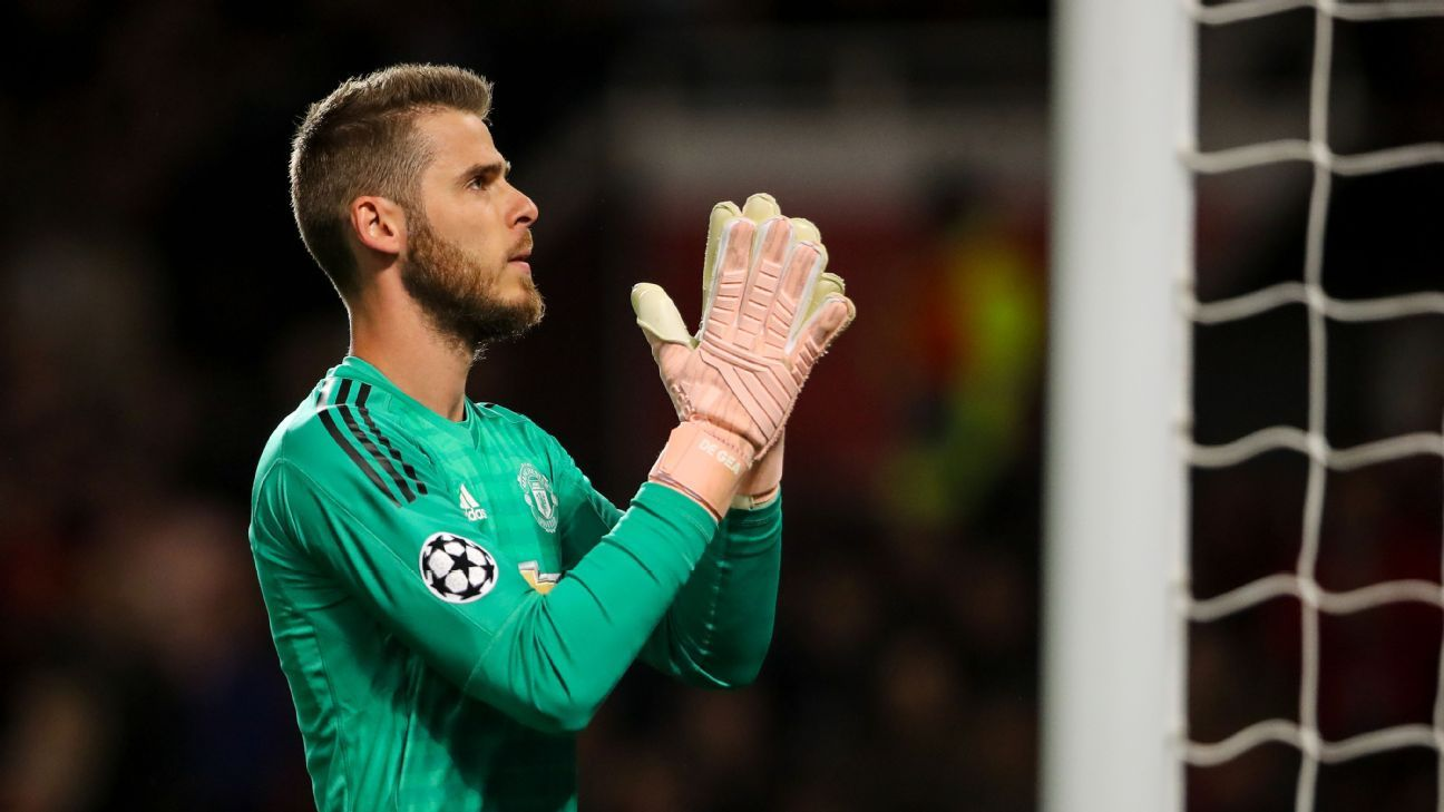 Speculation over David De Gea's Manchester United future is slowly ramping up.