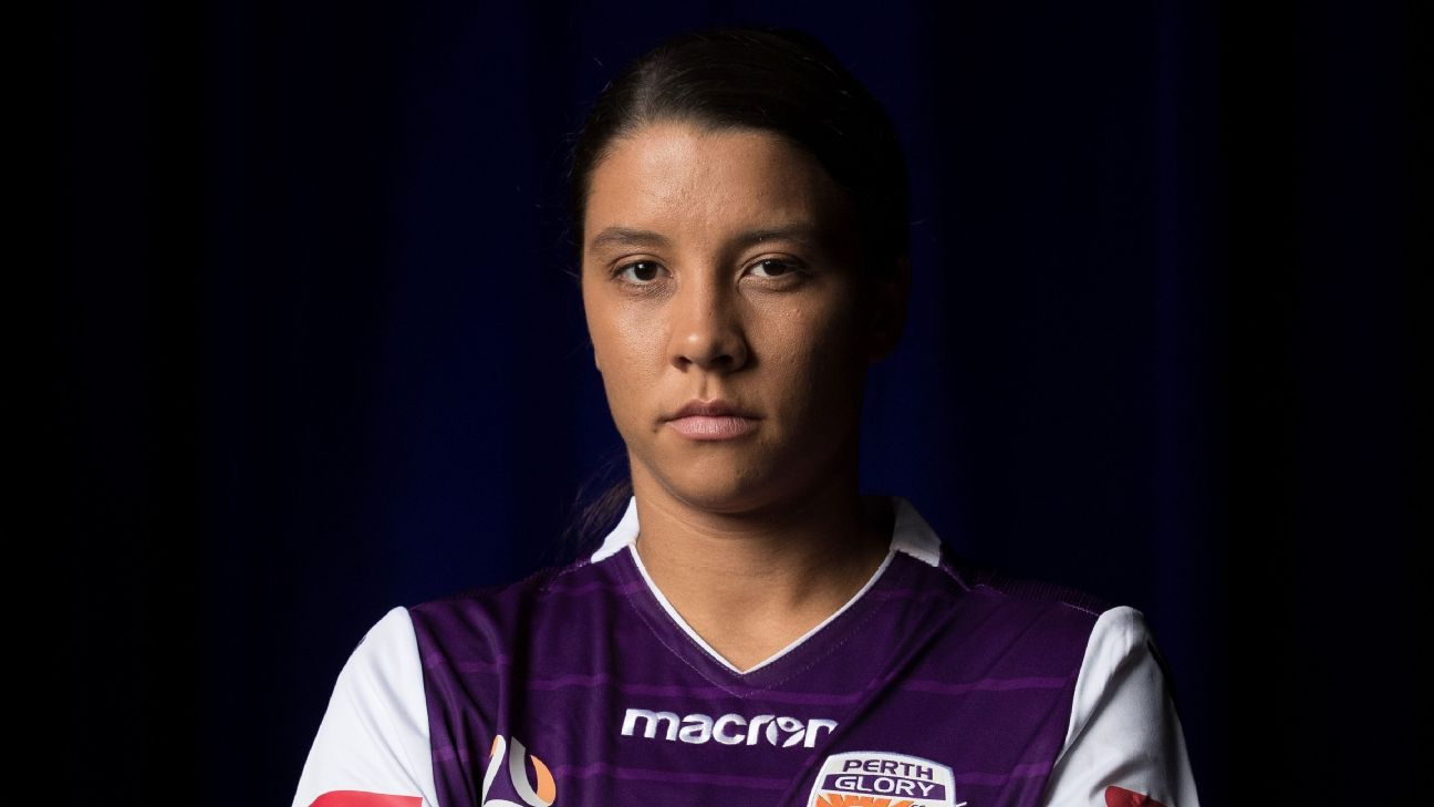 Samantha Kerr has returned to Perth Glory, this time as the W-League's first-ever marquee player.