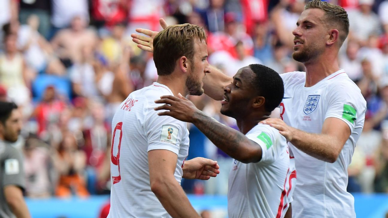 Harry Kane and Raheem Sterling are the two shining gems in England's side.