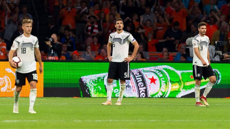 Germany look woefully out of sorts considering their dominant form heading into the 2018 World Cup. But now's not the time for hasty reactions.
