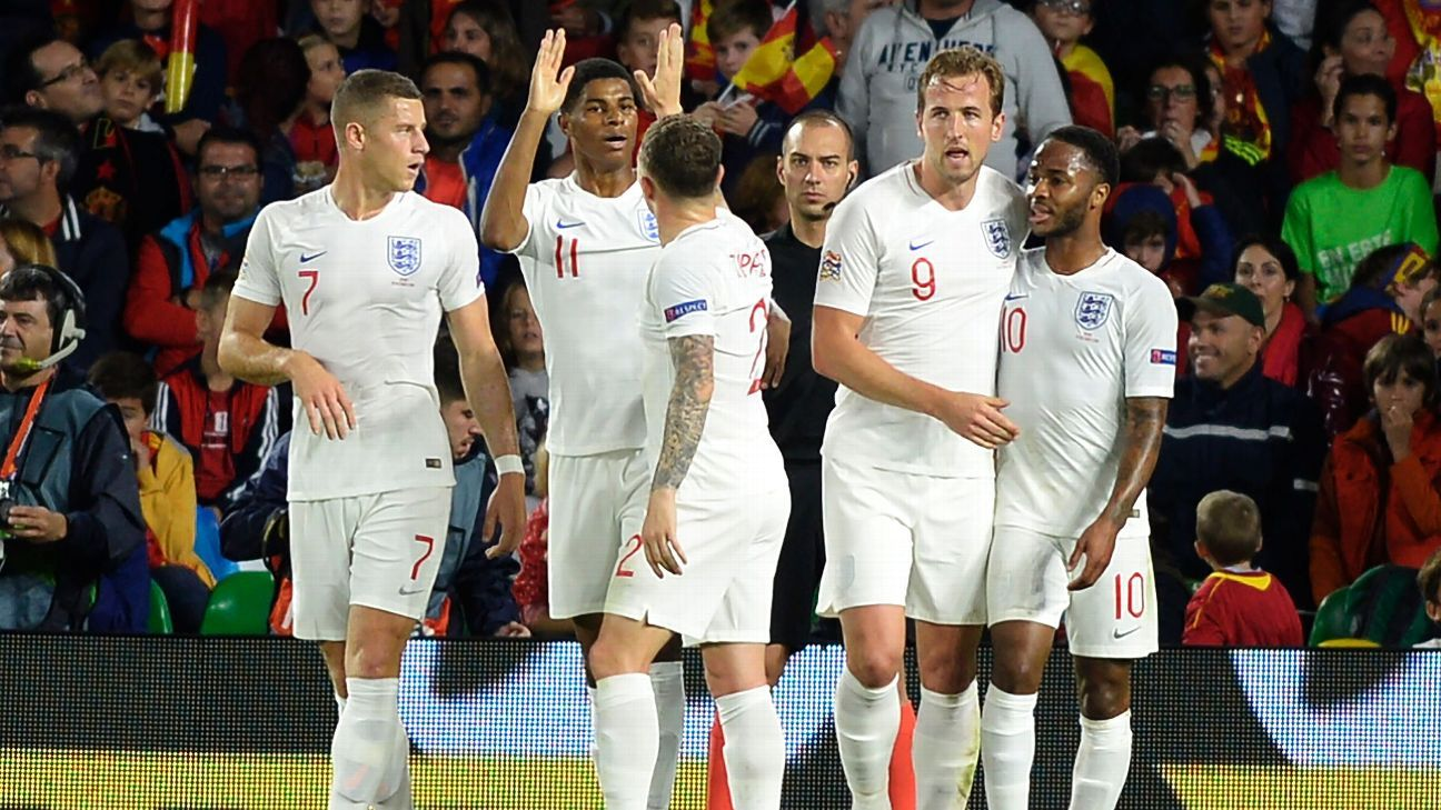 England are poised to pip their UEFA Nations League group on the final matchday.