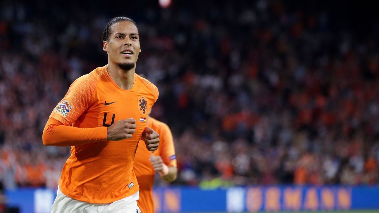 Netherlands' Virgil van Dijk