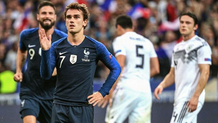 Antoine Griezmann has been in the goals can he keep it going vs. Uruguay?