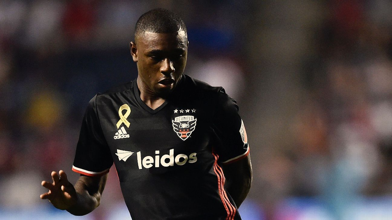 D.C. United's Chris Odoi-Atsem will begin four months of chemotherapy following a diagnosis for Hodgkin's lymphoma.