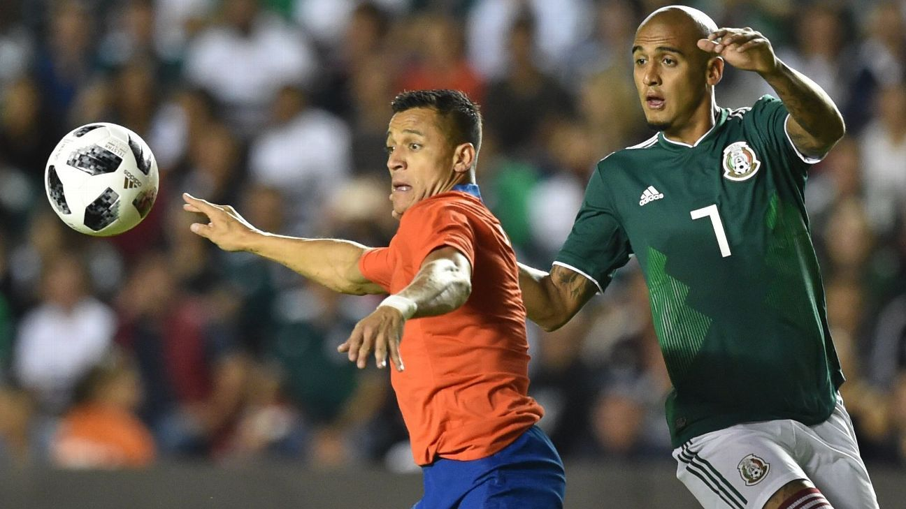 Alexis Sanchez and Chile may have won the match on Tuesday but Mexico took some positive strides.
