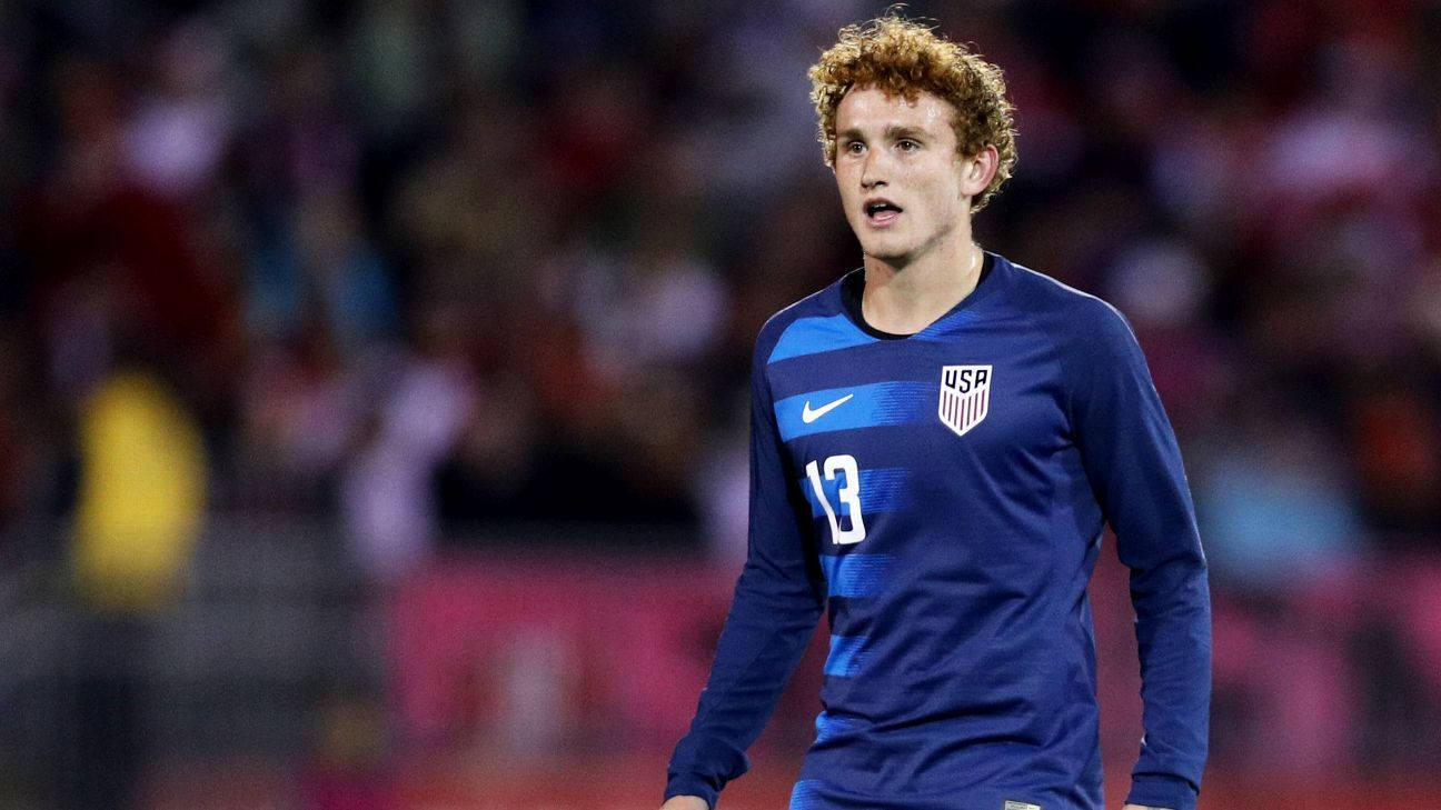 Josh Sargent earned top marks for the U.S. vs. Peru, scoring the goal and impressing with his hold-up play.