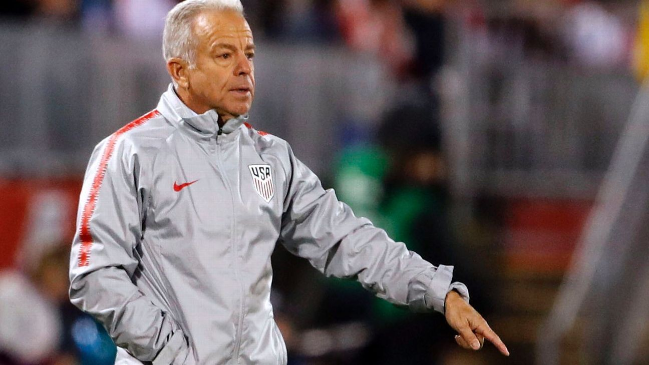 Dave Sarachan painted a mixed picture following the Americans' draw against Peru.