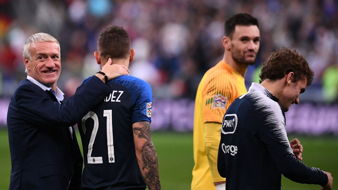 Didier Deschamps and France enjoyed an eventful international break, with the manager celebrating his 50th birthday and his team twice coming from behind to get a result.