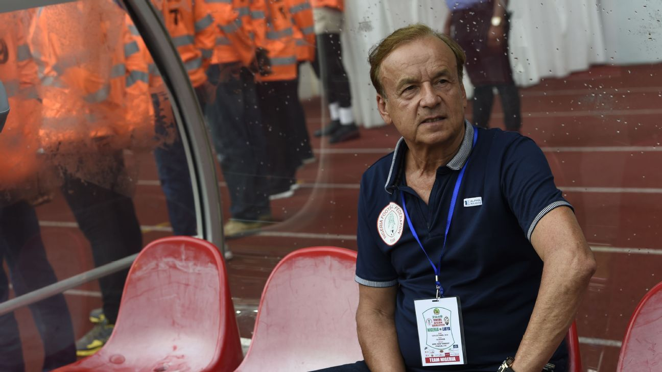 Nigeria coach Gernot Rohr was pleased with his side's double header win over Libya.