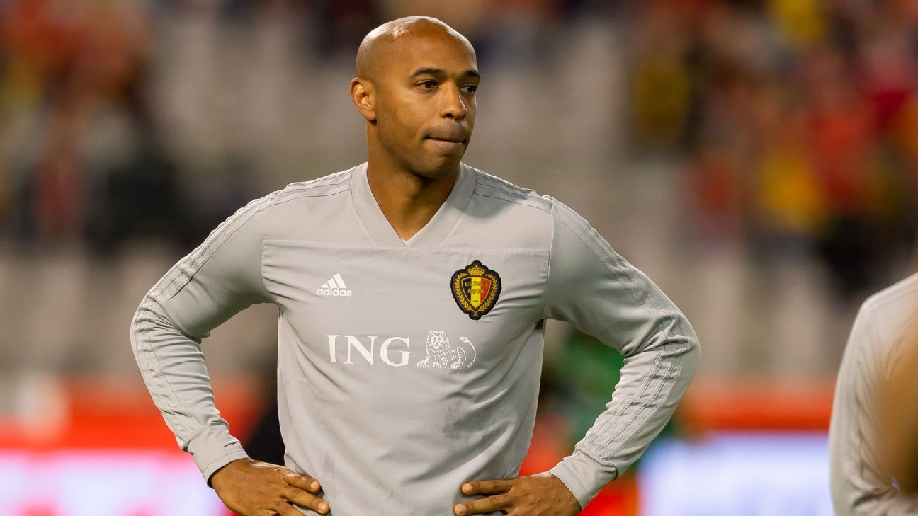 Thierry Henry has left his role as Belgium assistant manager