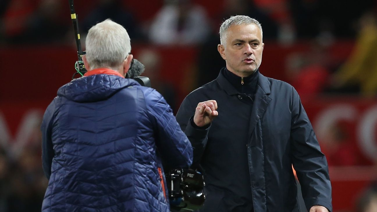 Jose Mourinho's actions after Man United's win vs. Newcastle have landed him an FA charge.