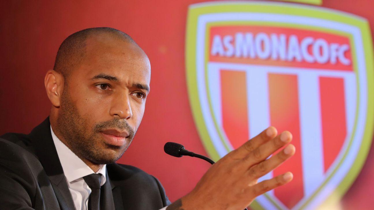 Monaco have struggled so far this season, replacing coach Leonardo Jardim with Thierry Henry.