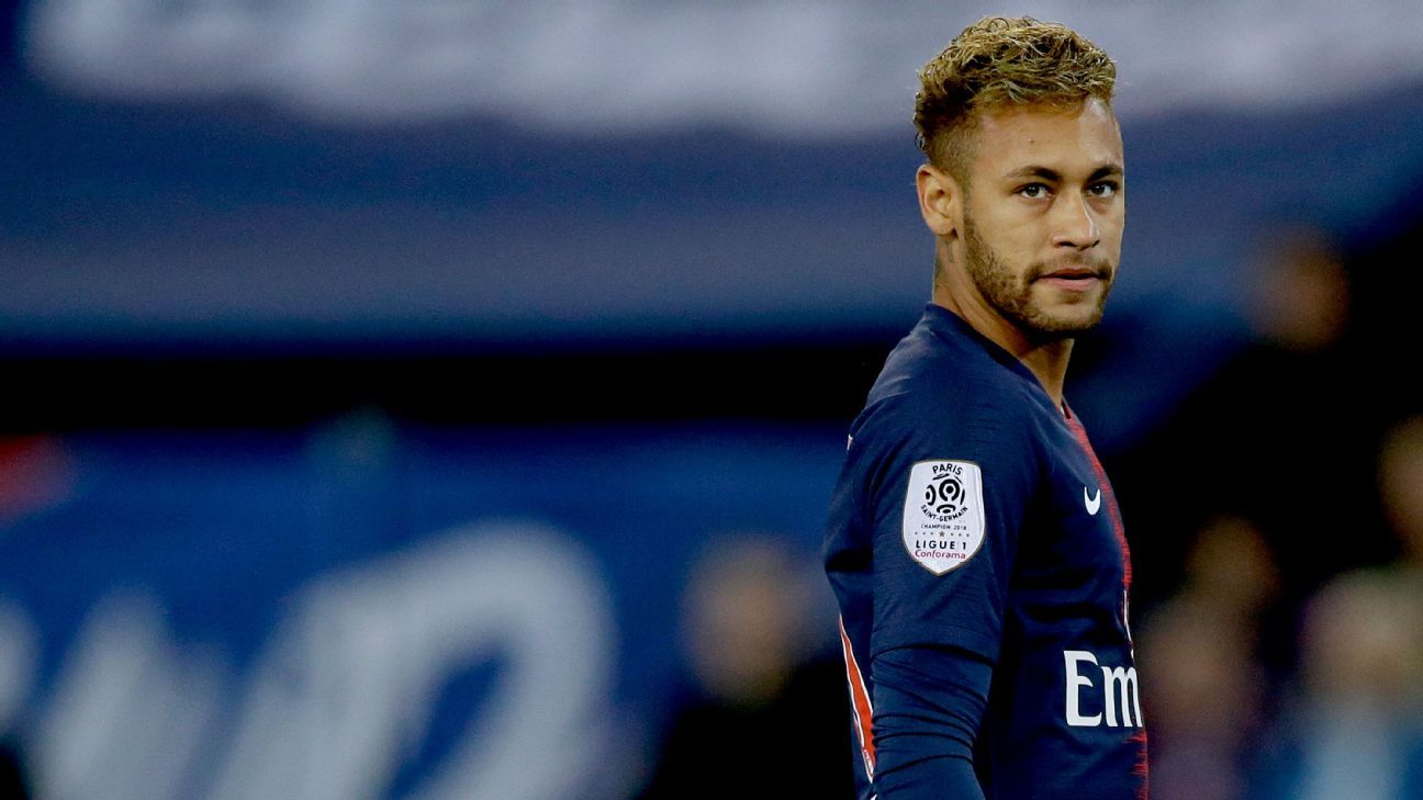 Neymar has been overshadowed this season at Paris Saint-Germain by Kylian Mbappe.