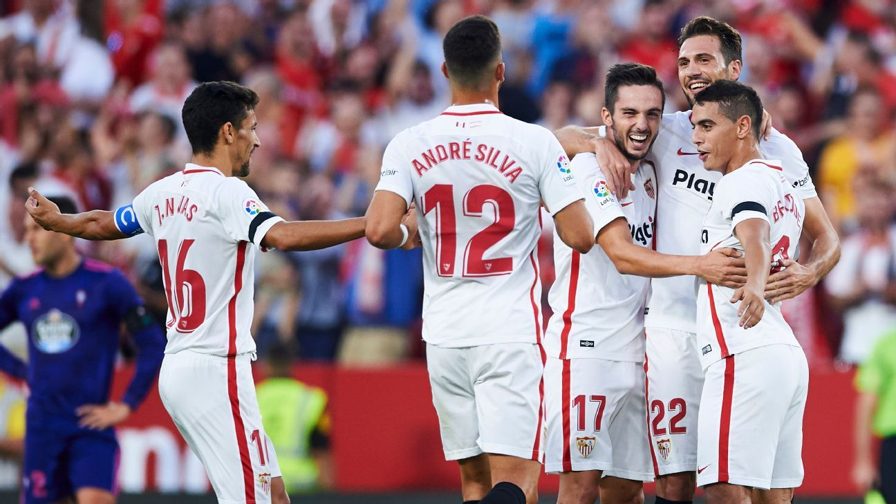 Nobody expected Sevilla's remarkable start to the season but the squad, and new manager Pablo Manchin, are growing in confidence.