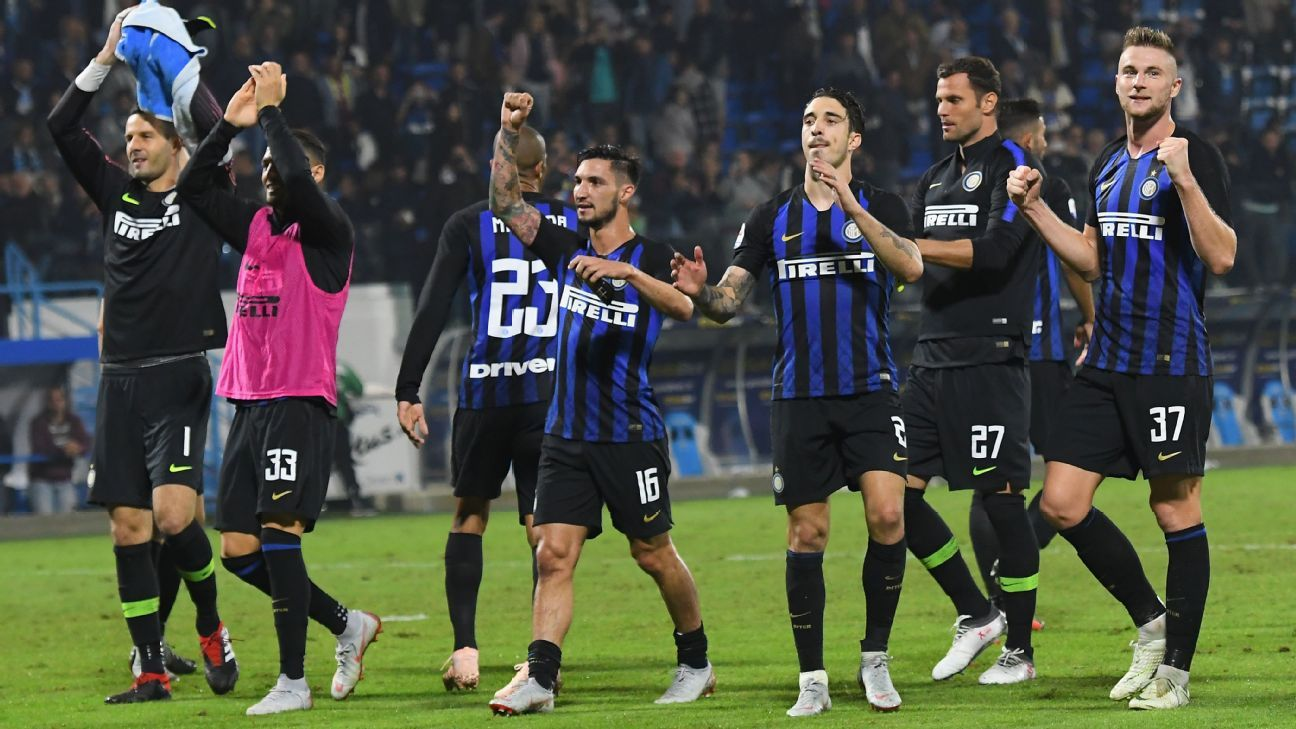Inter's resurgence is hitting stride nicely in 2018-19 but there's still some way to go before they bridge the gap to, say, Juventus.