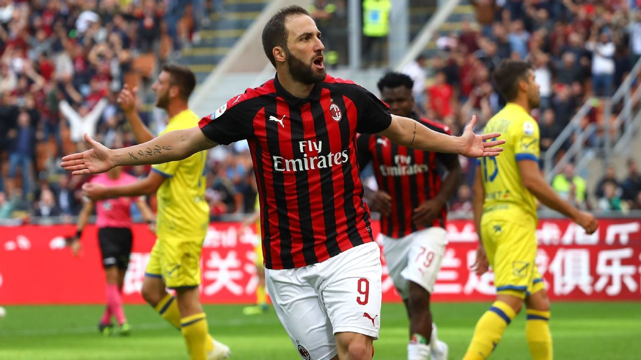 Gonzalo Higuain has given Milan the no. 9 they've been sorely lacking and while they're still a work in progress, there's finally hope swirling around the storied club.