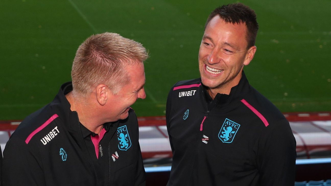 Dean Smith and John Terry are unveiled at Aston Villa