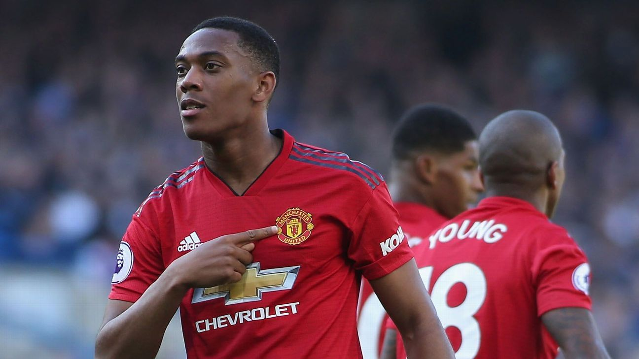 Anthony Martial's double strike so nearly earned victory for Man United.