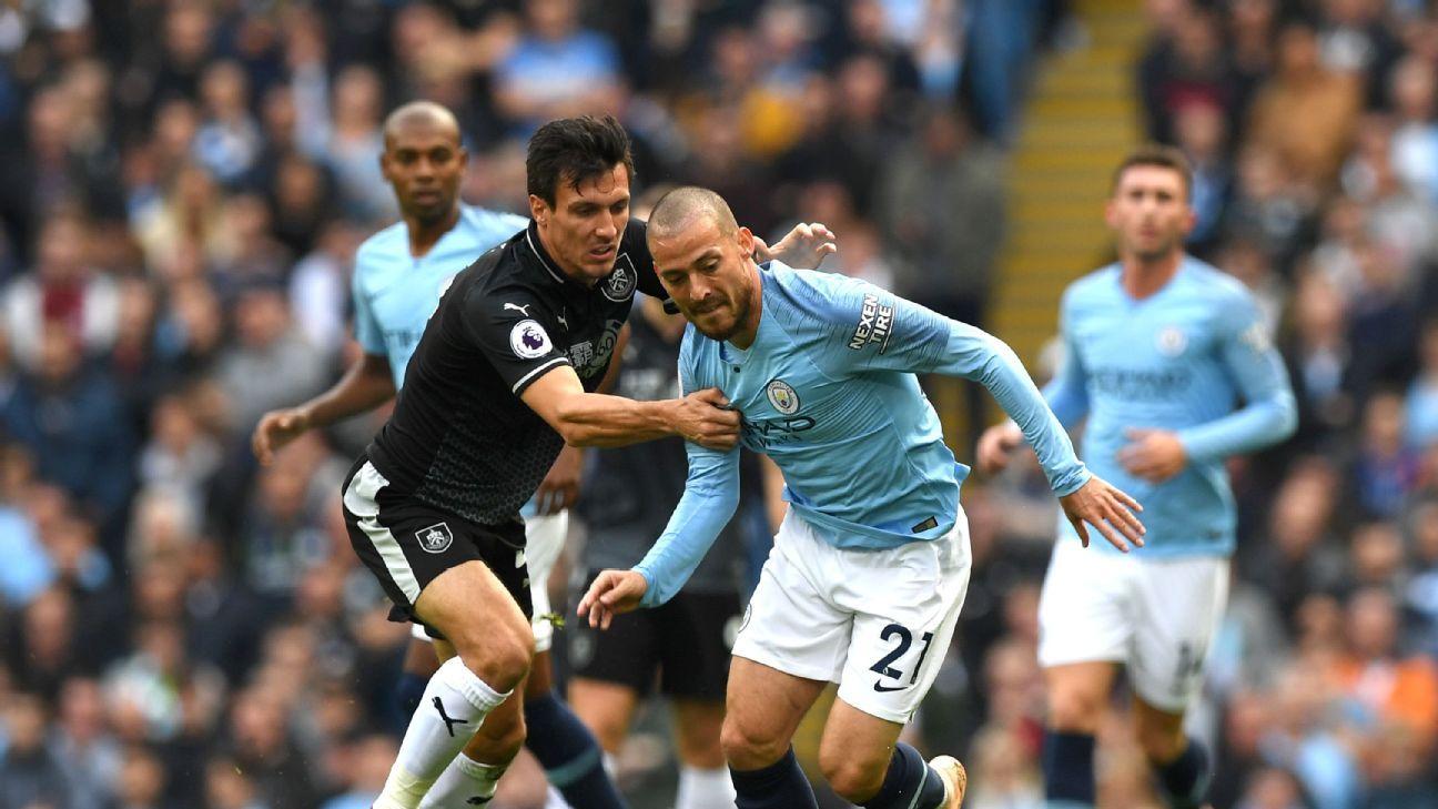 David Silva didn't score one of Man City's five goals but was still the side's best vs. Burnley.