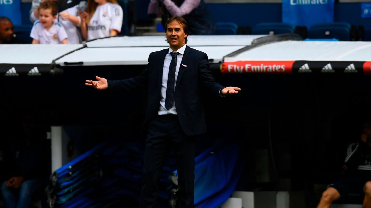 Julen Lopetegui has found the Real Madrid job harder than he thought.